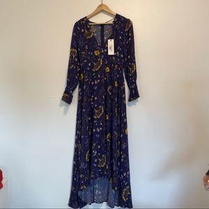 Dance & Marvel Dresses - Blue floral dress